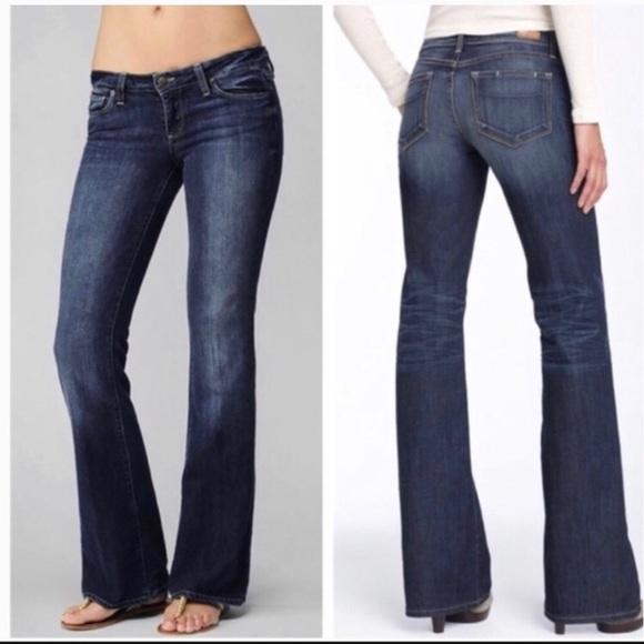 Paige • Laurel Canyon Bootcut Jeans Size 25
